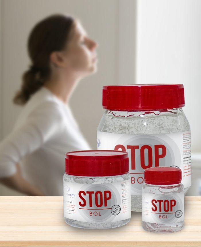 Stop Bol masažni gel